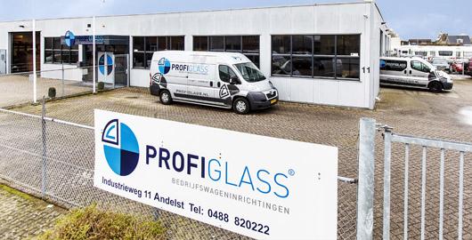 Profi Glass vestiging Andelst